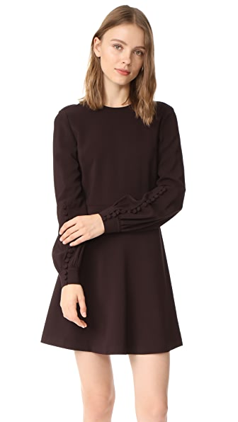A.L.C. Lauren Dress - Raisin