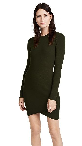 A.L.C. Lara Dress In Seaweed