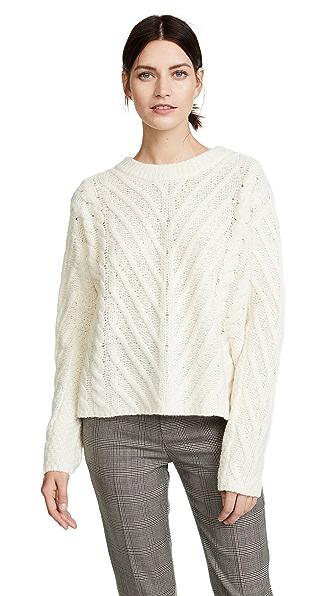 A.L.C. Jonas Sweater In White