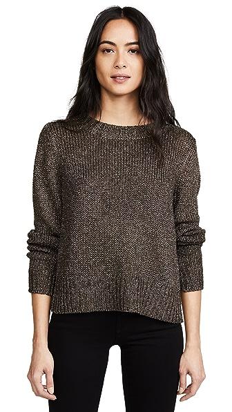 A.L.C. Marjorie Sweater In Black/Gold
