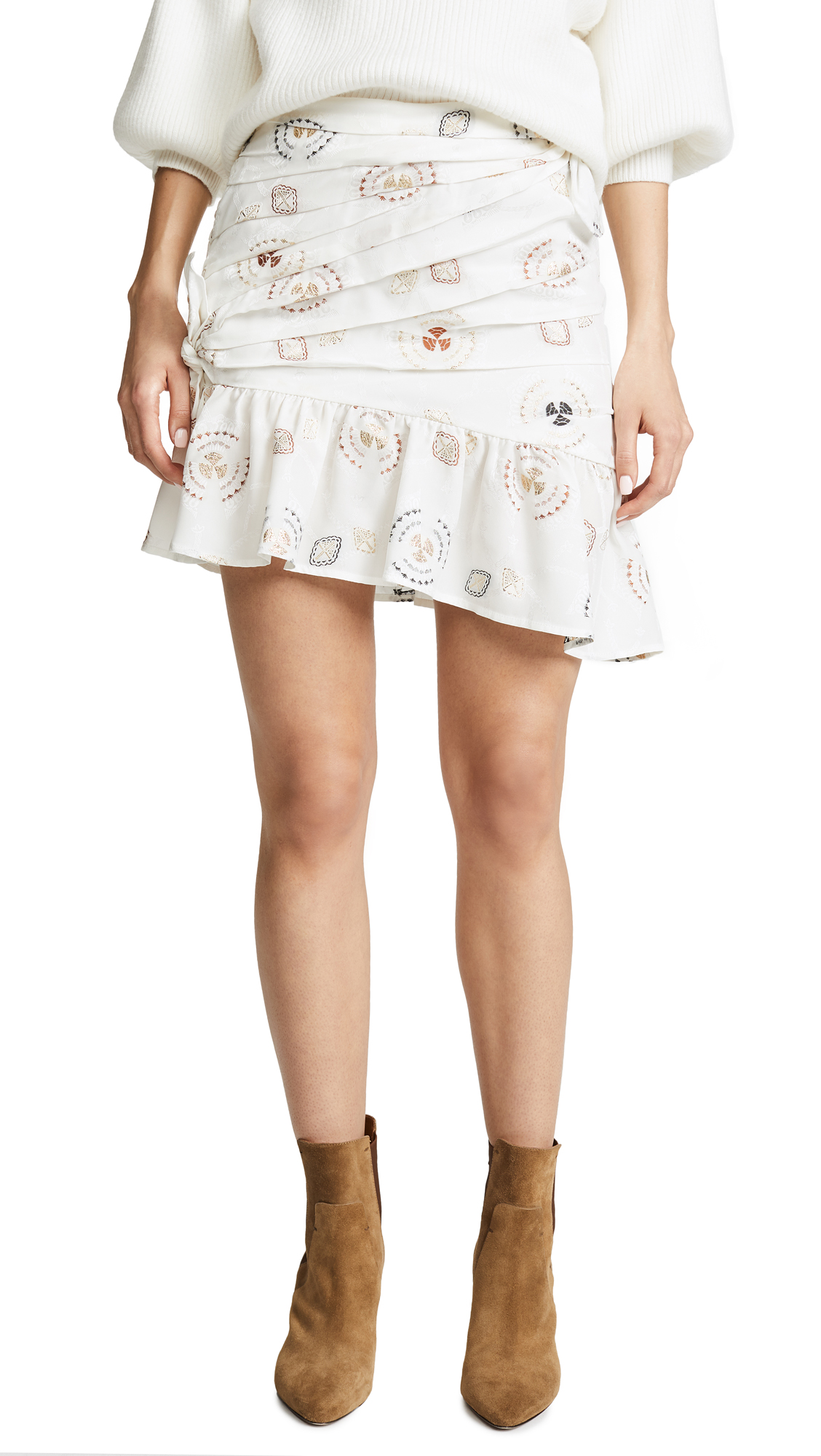 Avalon Fela Jacquard Skirt