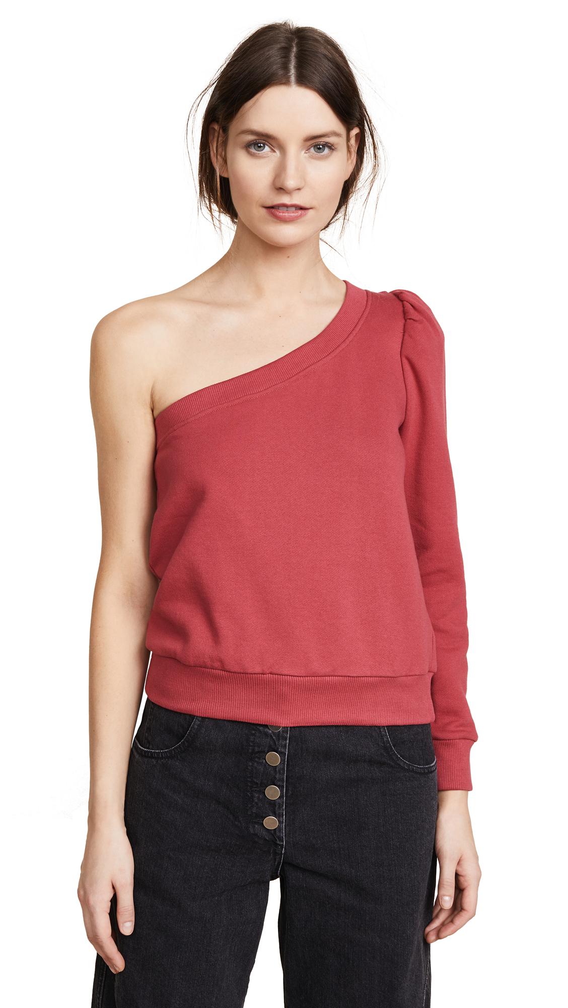 A.L.C. Crane Sweatshirt - Coral