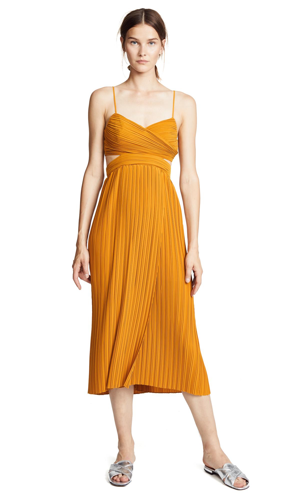 A.L.C. Sienna Dress In Marigold