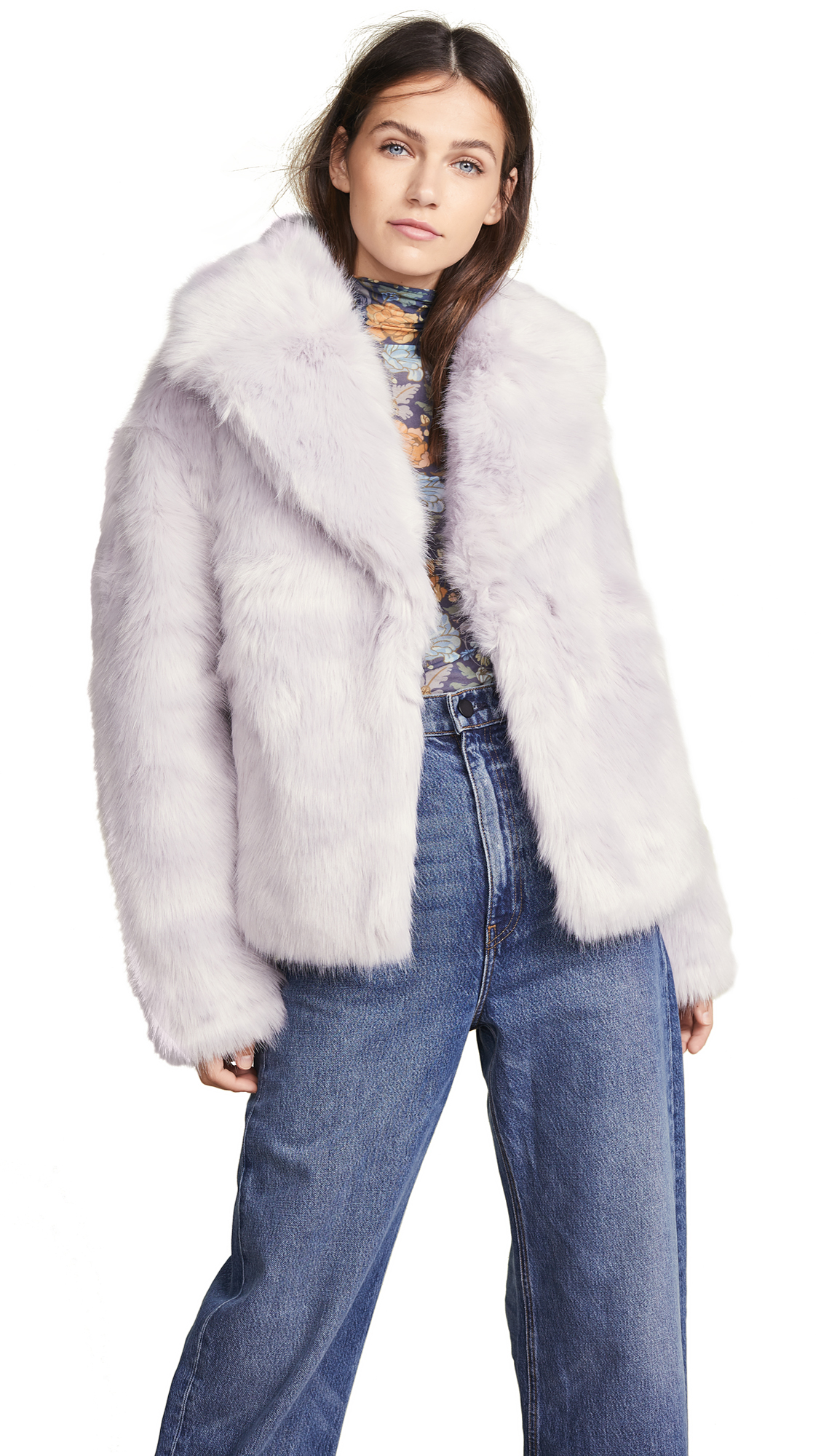 A.L.C. Grant Jacket In Light Lavender