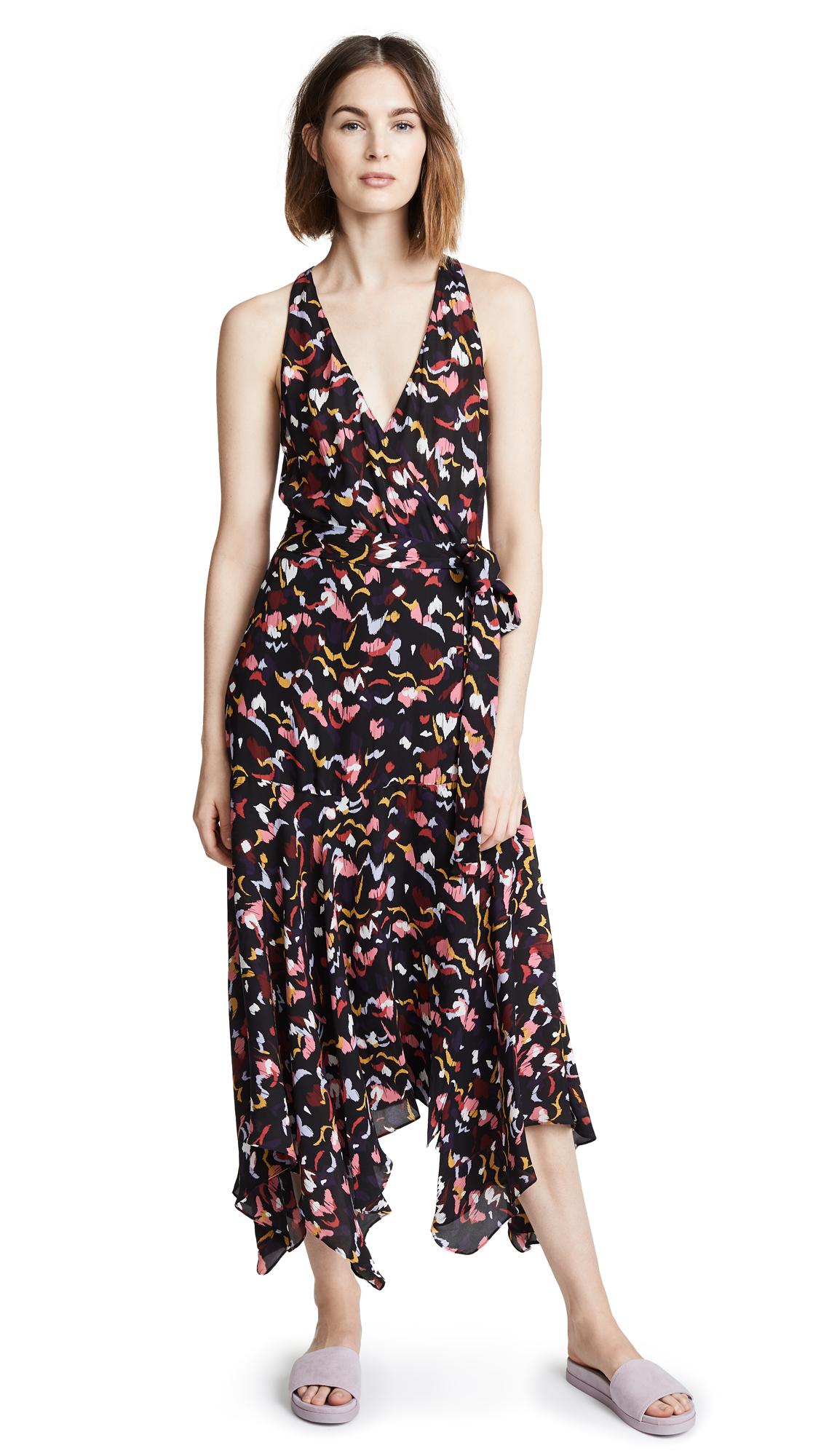 A.L.C. Rosyln Dress - Coral Multi
