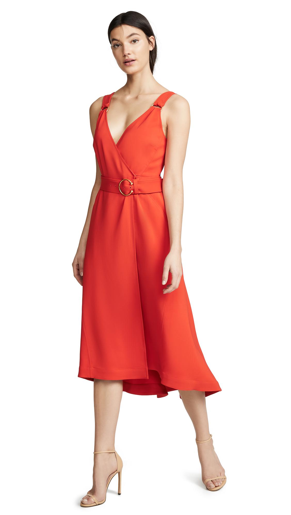 A.L.C. Haley Dress - Poppy