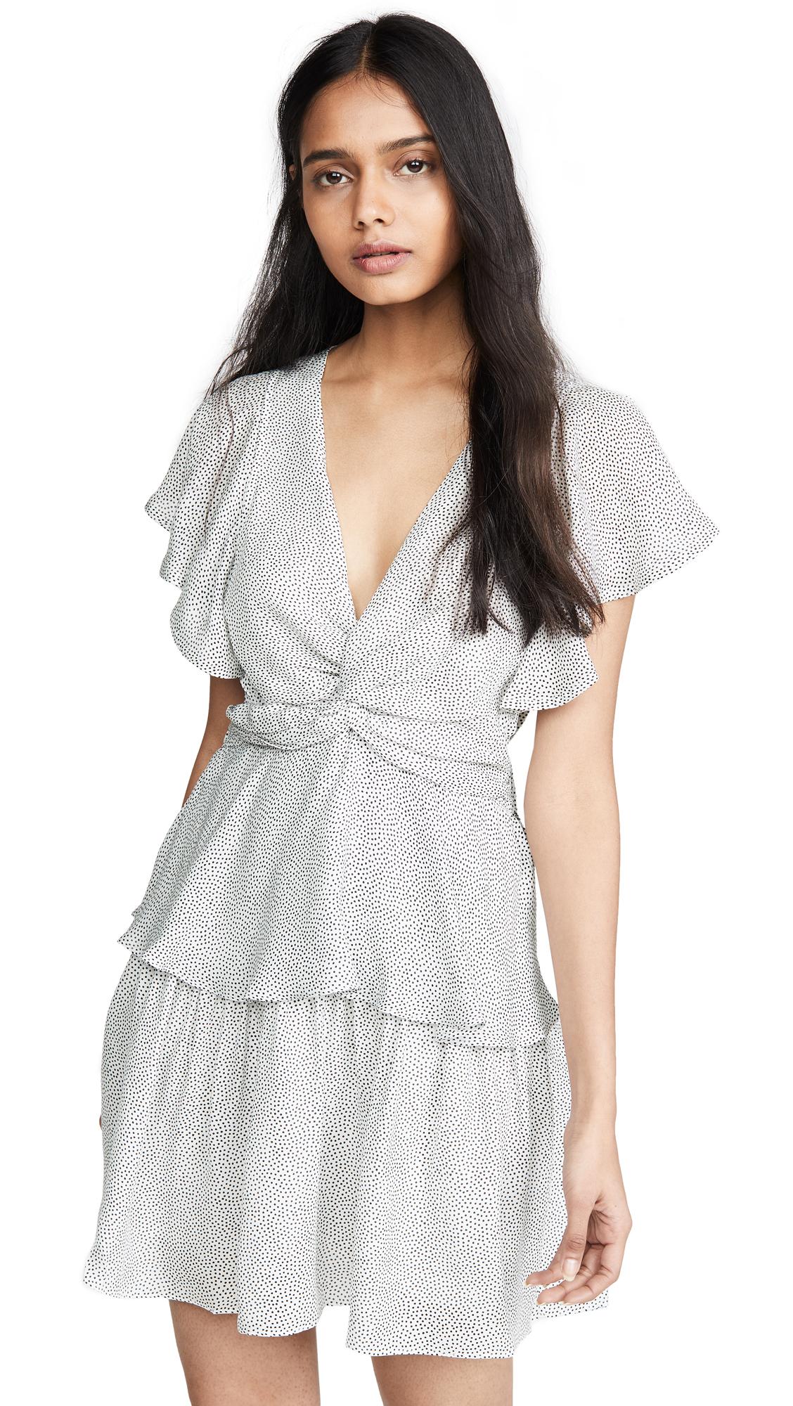 A.L.C. Viera Dress - White/Black