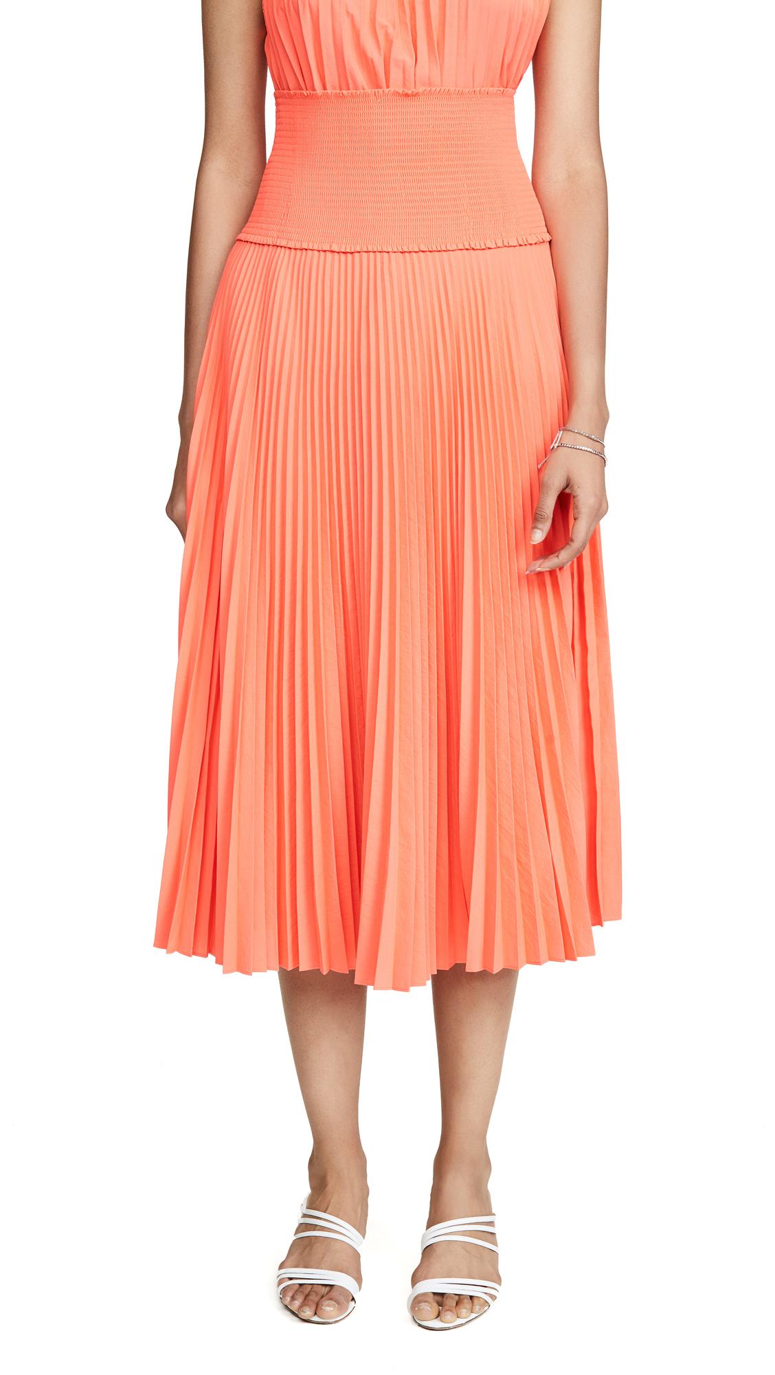 A.L.C. Hedrin Skirt - Neon Orange