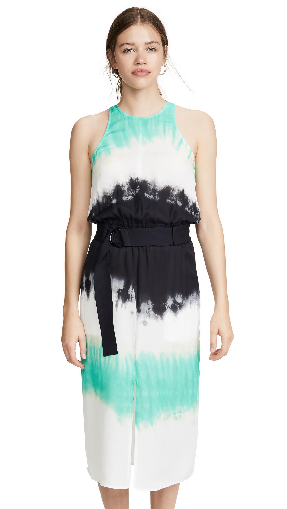 A.L.C. Tallulah Dress - Green/Black