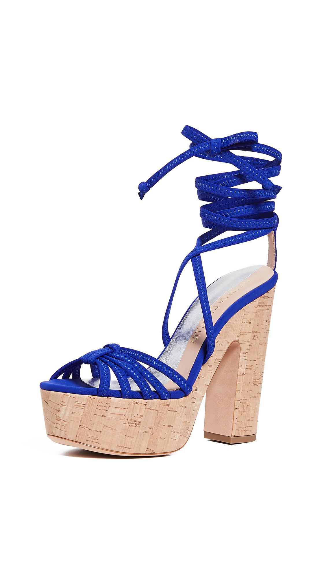 Alchimia di Ballin Bikini Platform Sandals - Cobalt