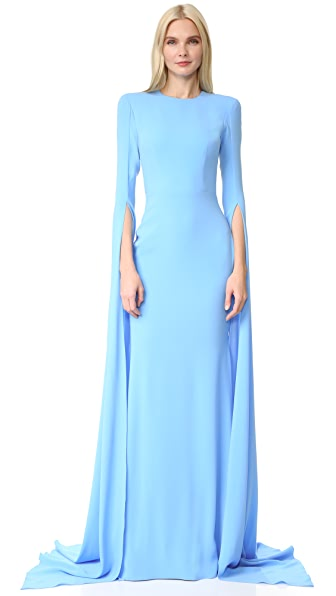 Alex Perry Courtney Gown - Powder Blue