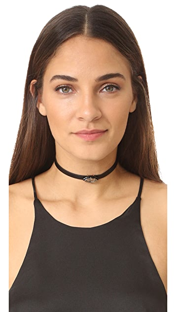 Alexis Bittar Enamel Framed Wrap Bracelet & Choker