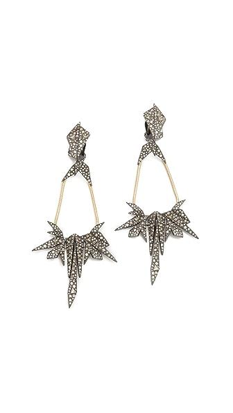 Alexis Bittar Dangling Origami Earrings