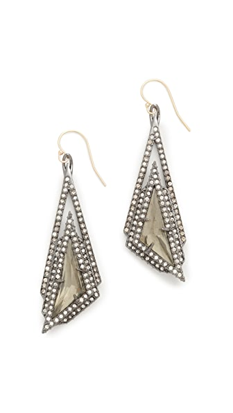 Alexis Bittar Stepped Fancy Pyramid Earrings