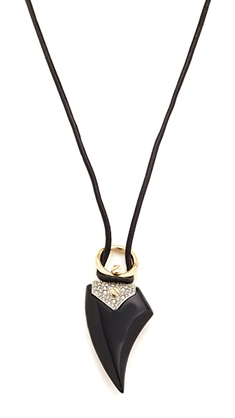 Alexis Bittar Crystal Encrusted Thorn Necklace