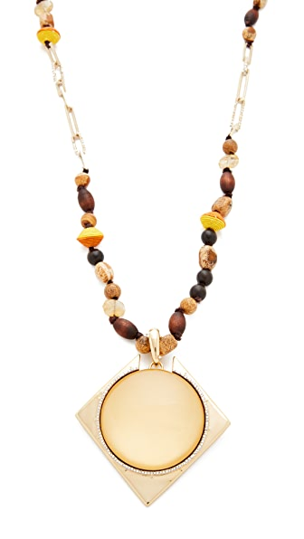 Alexis Bittar Removable Geometric Pendant Necklace