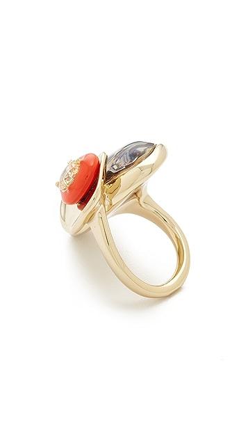 Alexis Bittar Wood Grain Ring