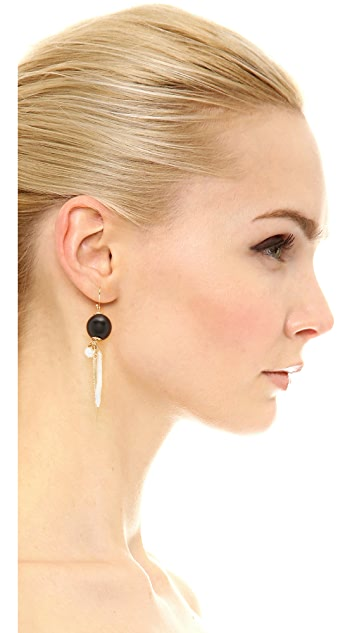 Alexis Bittar Cluster Pave Spike Earrings
