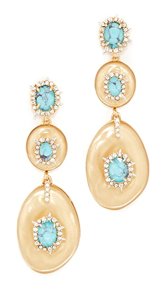 Alexis Bittar Liquid Silk Dangling Earrings