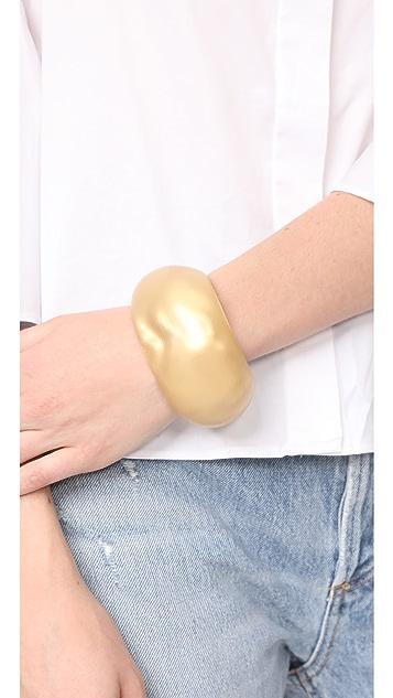 Alexis Bittar Domed Liquid Silk Cuff Bracelet