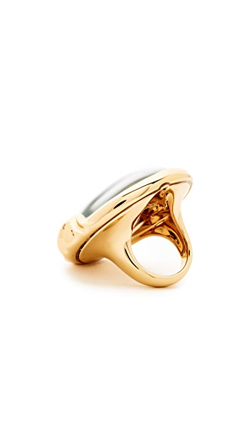 Alexis Bittar Sculptural Sphere Cocktail Ring