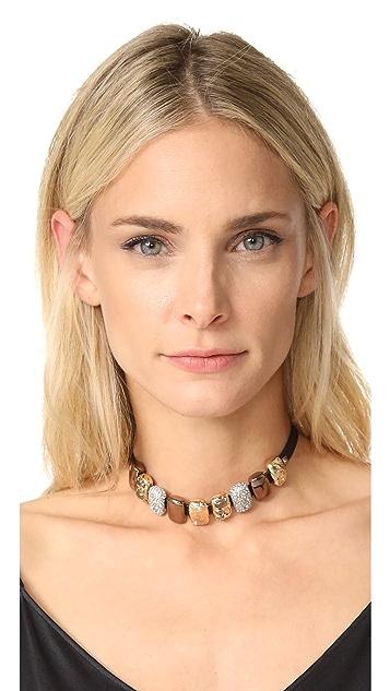 Alexis Bittar Crystal Choker Necklace