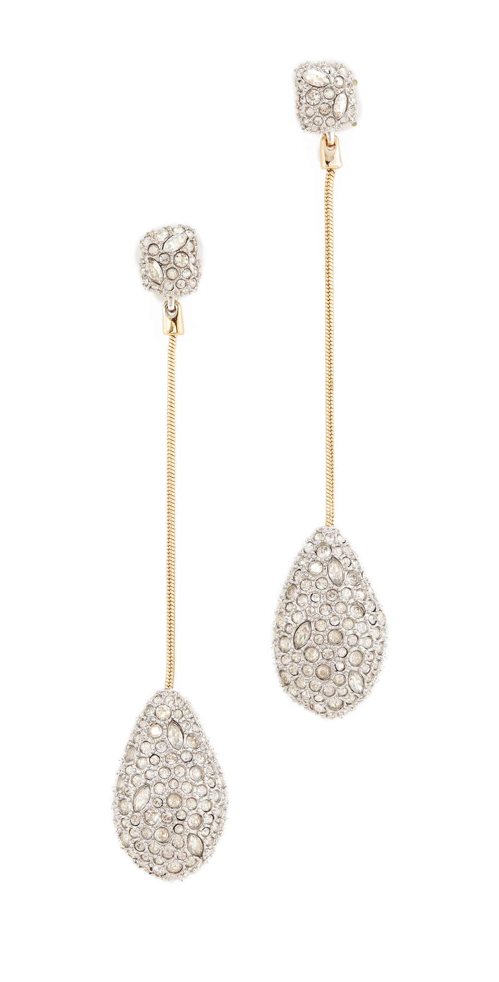 Crystal Drop Earrings Alexis Bittar