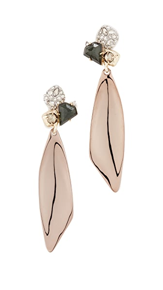 Alexis Bittar Doublet Earrings - Green Amethyst