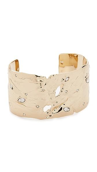 Alexis Bittar Liquid Cuff Bracelet In Gold