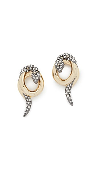 Alexis Bittar Snake Earrings