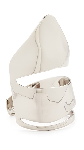 Alexis Bittar Liquid Armor Cuff Bracelet - Silver