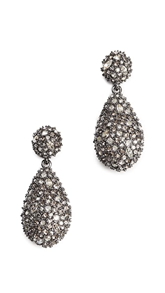 Alexis Bittar Pod Drop Earrings In Ruthenium/Gold