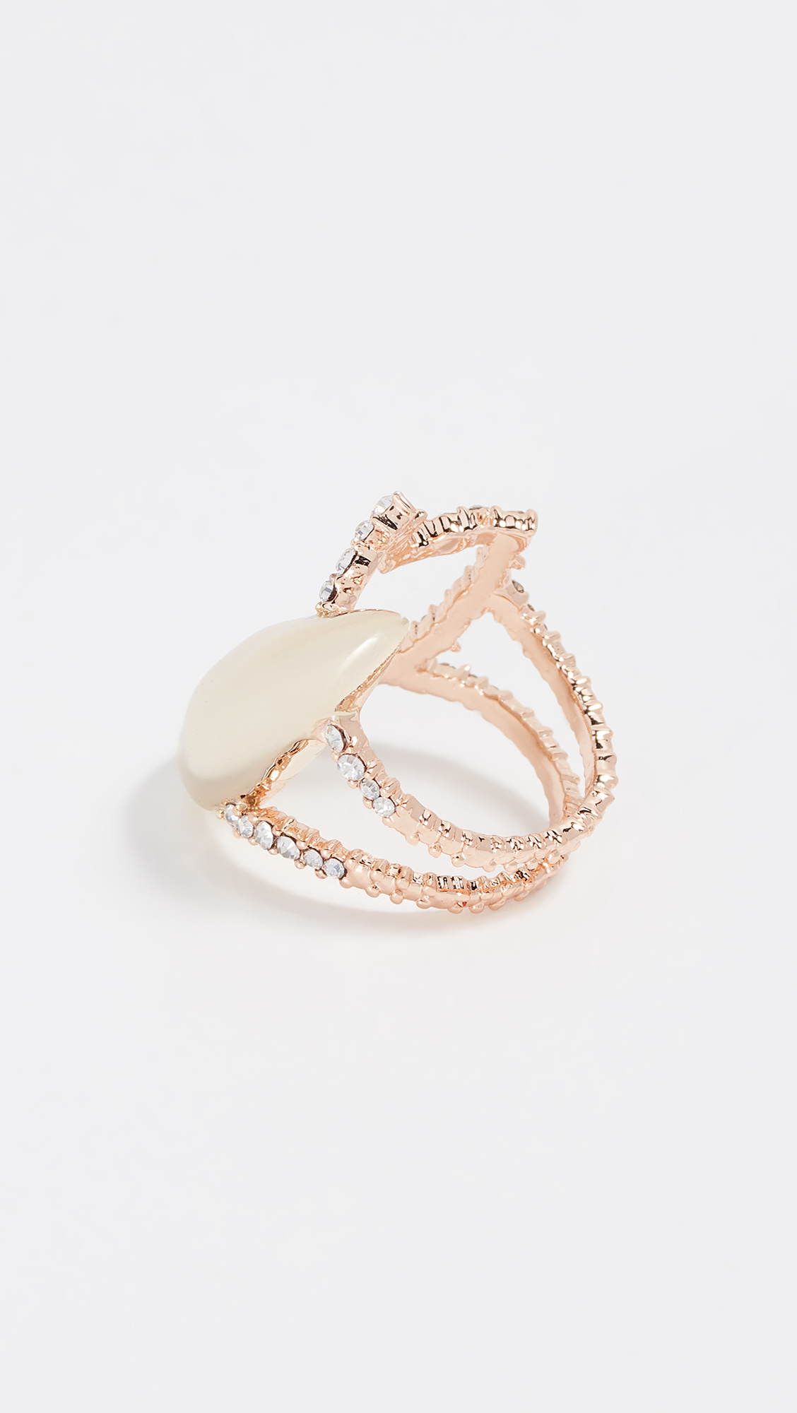 Alexis Bittar Abstract Tulip Cocktail Ring L2ISx