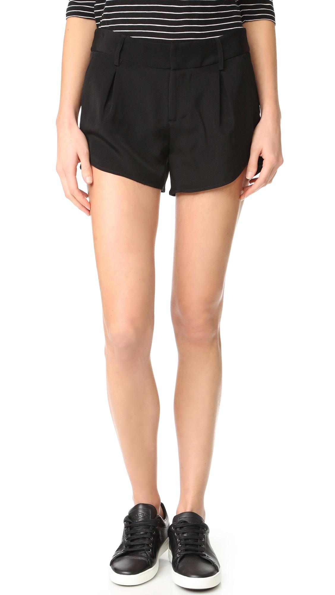 Alice + Olivia Butterfly Shorts - Black at Shopbop