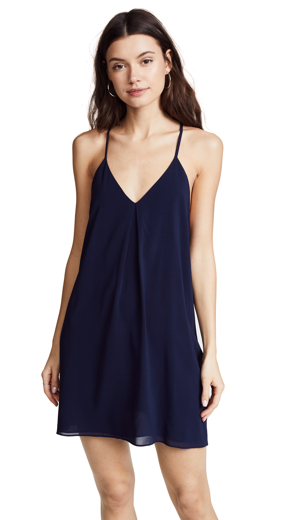 alice + olivia Fierra Dress - Navy