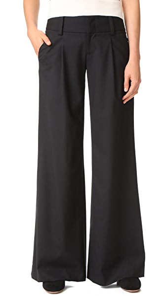 Eric Front Pleat Wide Leg Pants