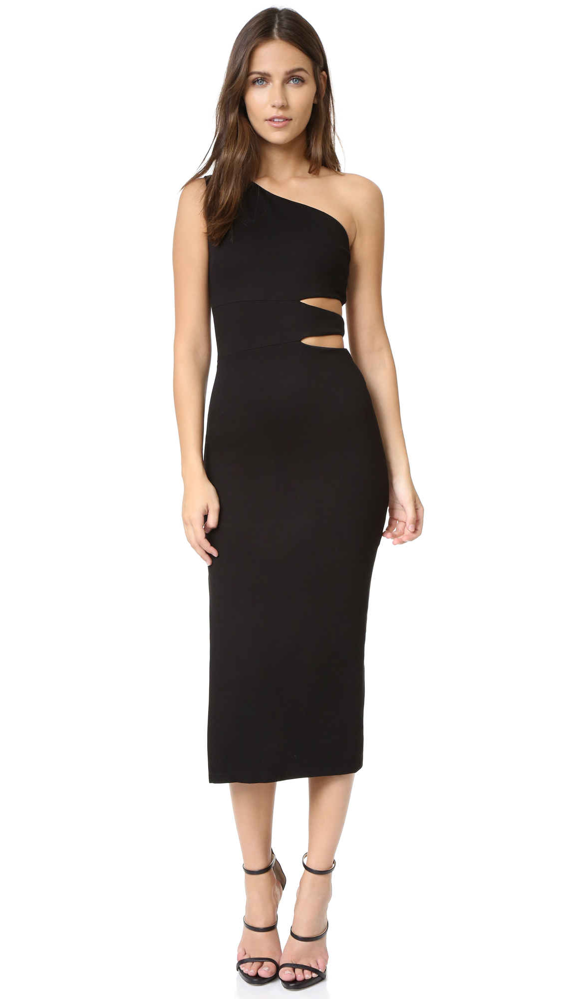 Alice + Olivia Margo Dress - Black at Shopbop