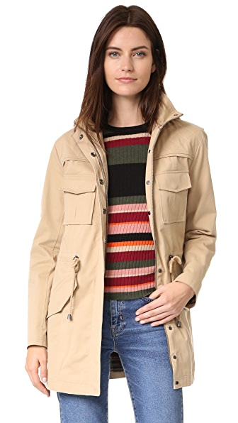 alice + olivia Atticus Oversized Jacket
