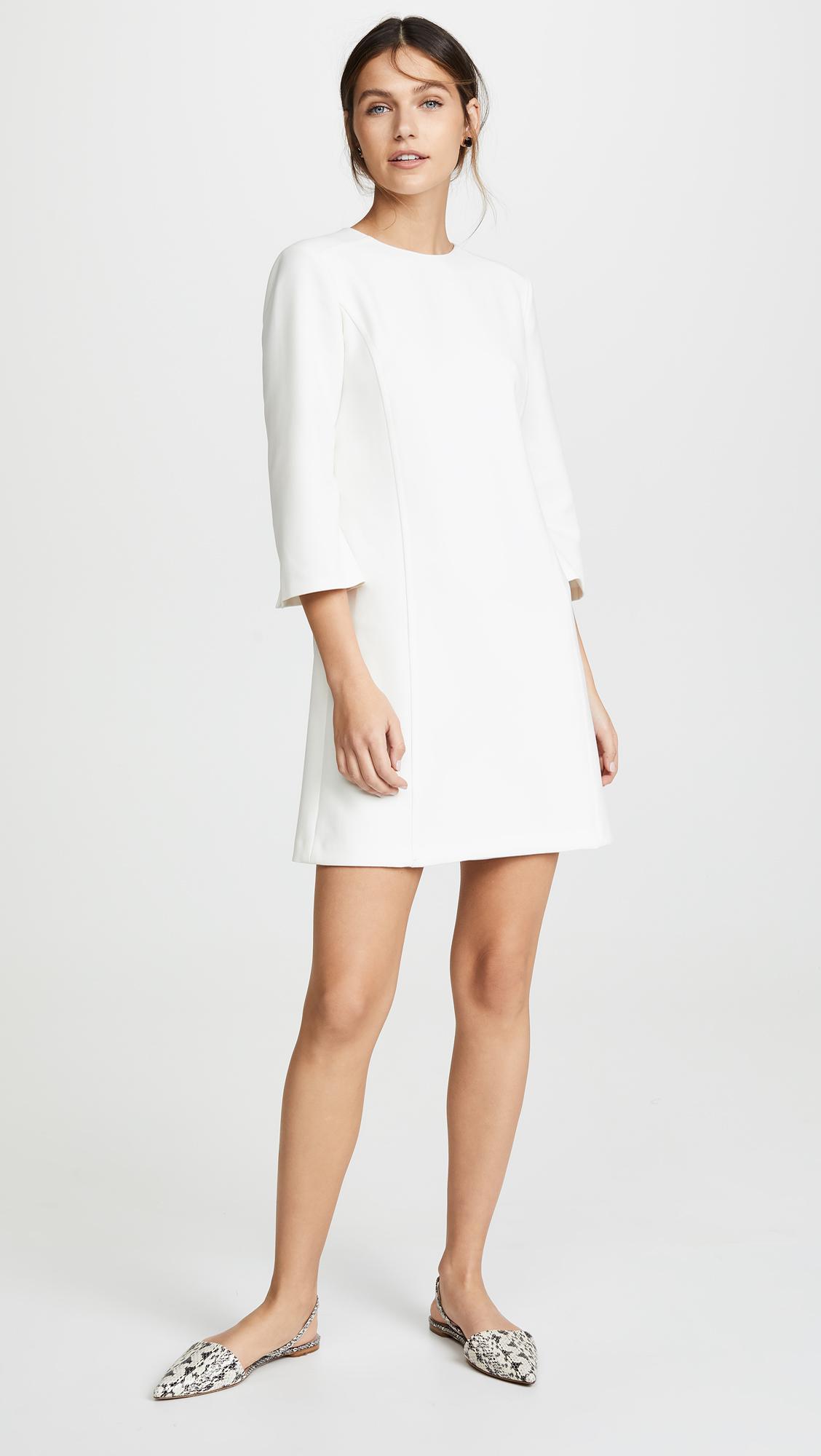 7f77e8b968c alice + olivia Gem 3 4 Sleeve Shift Dress