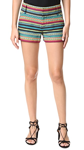 alice + olivia Piece & Co Cady Shorts