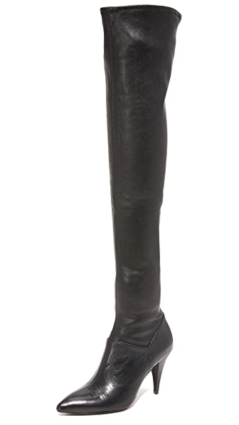 Alice + Olivia Casey Over The Knee Boots - Black at Shopbop