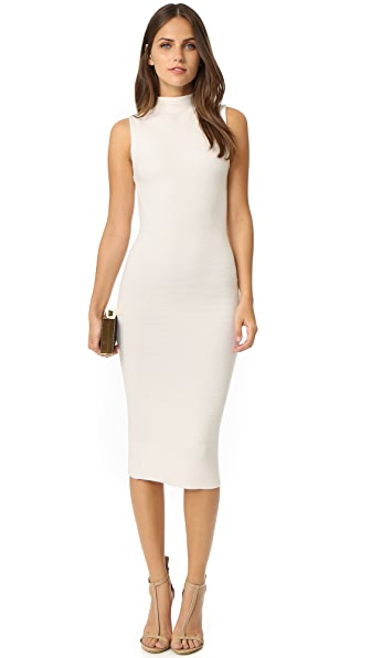alice + olivia Hana Mock Neck Ottoman Dress