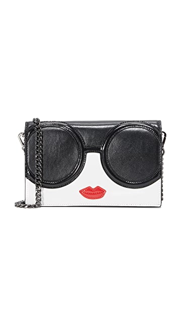 alice + olivia Stace Face Wallet Cross Body Bag