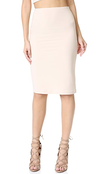 Alice + Olivia Air Terri Pencil Skirt - Pale Nude at Shopbop