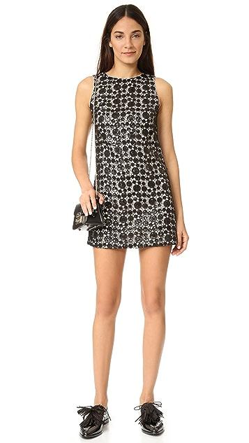 alice + olivia Clyde Sequin Shift Dress