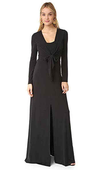 alice + olivia Salina Long Sleeve Gown at Shopbop
