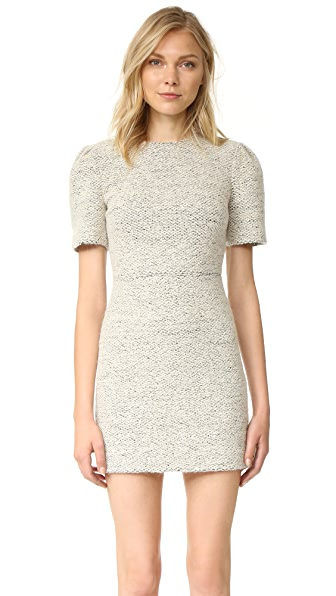 alice + olivia Genny Pouf Sleeve Dress
