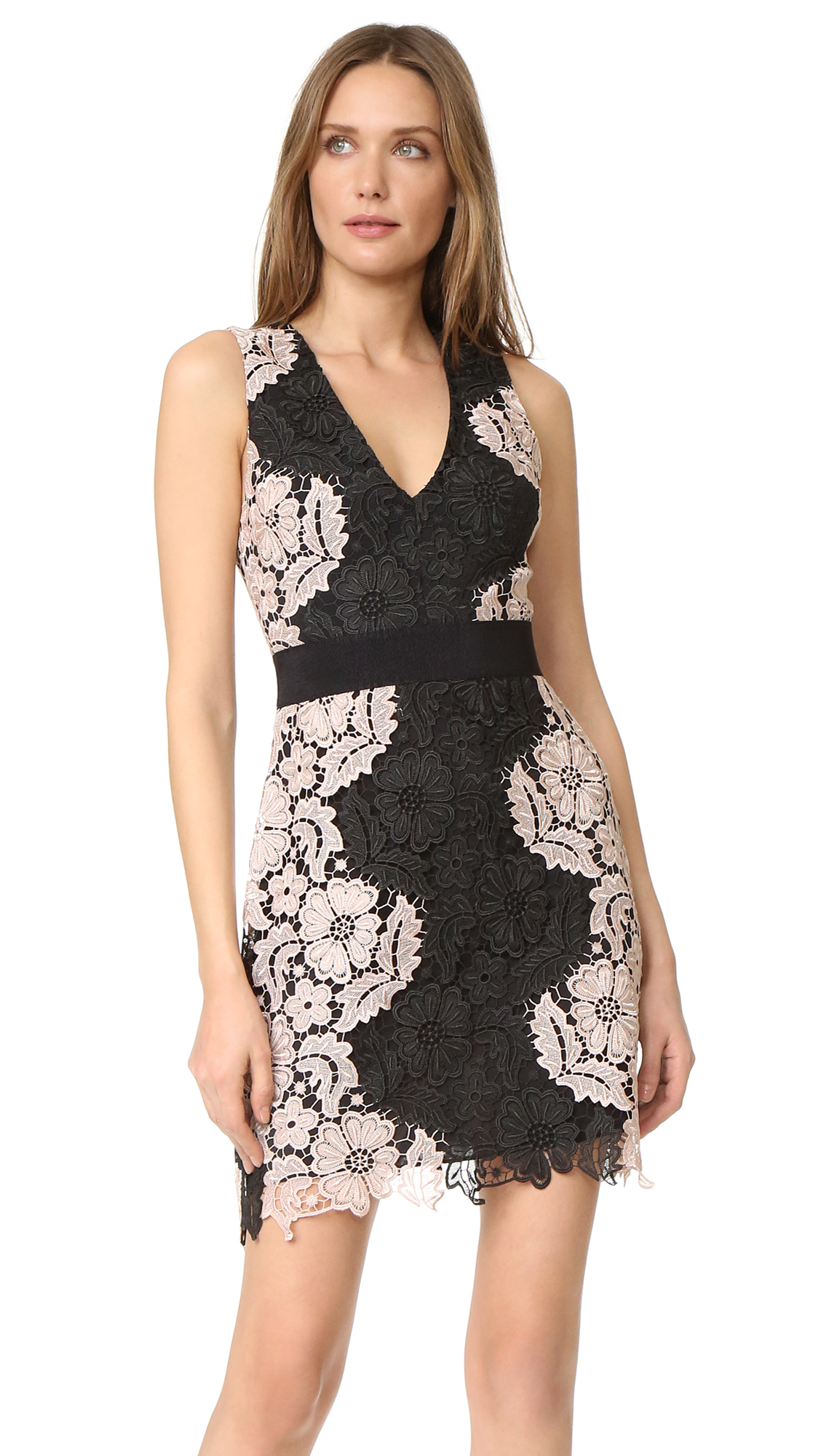 Alice olivia patrice aline lace dress shopbop ombrellifo Images