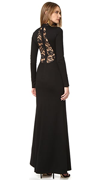 alice + olivia Rosamund Dress with Tear Drop Back