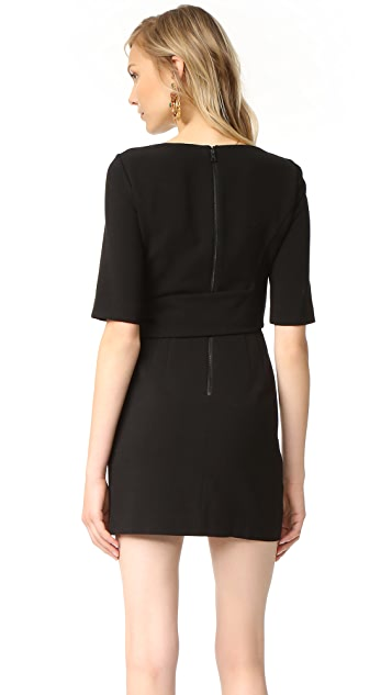 alice + olivia Virgil Wrap Dress